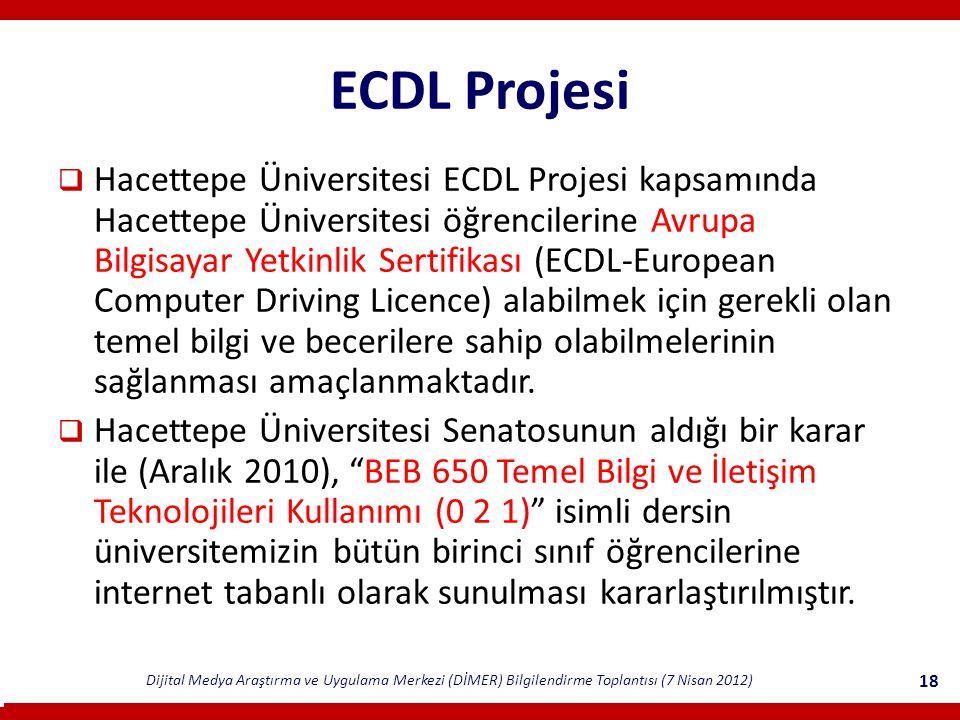 ECDL Projesi