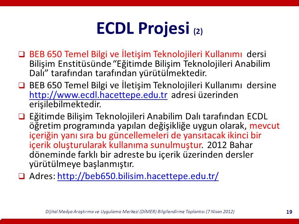ECDL Projesi (2)