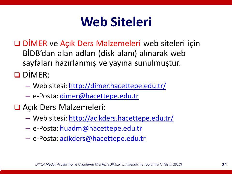 Web Siteleri
