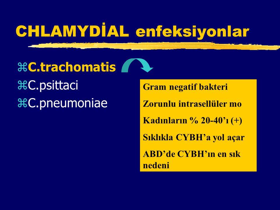 CHLAMYDİAL enfeksiyonlar