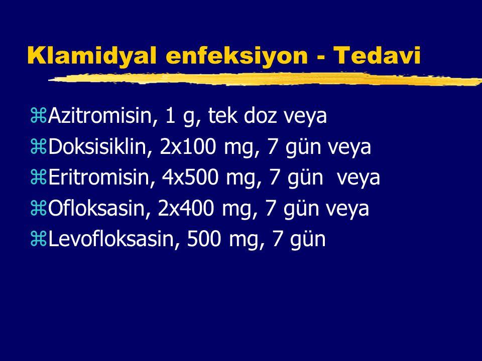 Klamidyal enfeksiyon - Tedavi