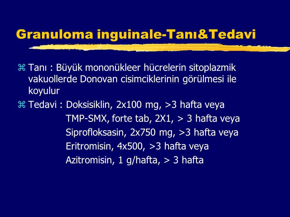 Granuloma inguinale-Tanı&Tedavi