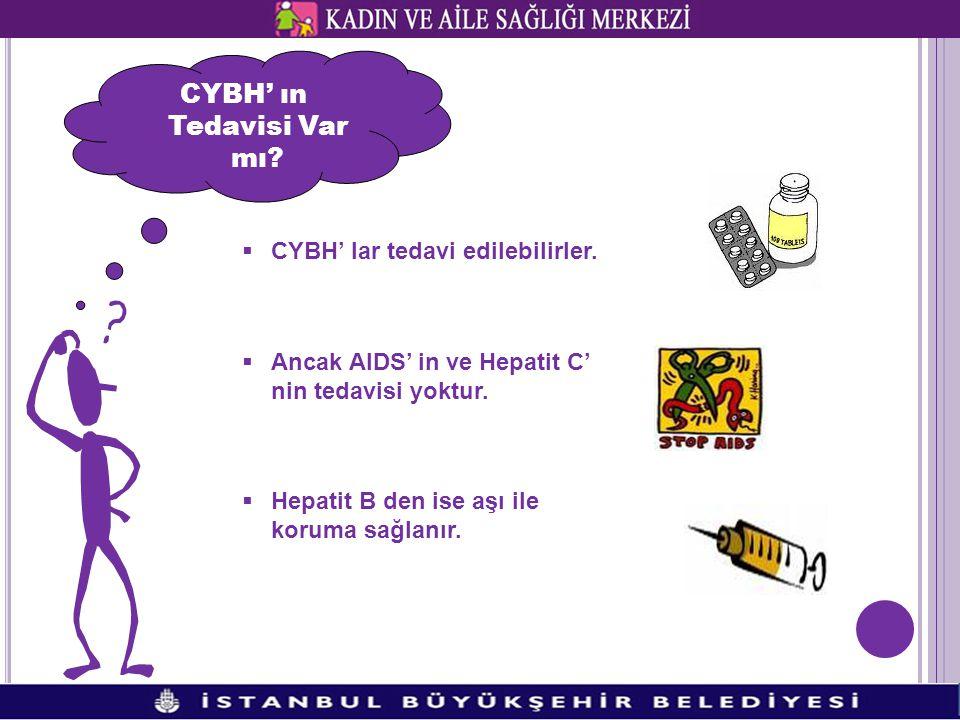 CYBH' ın Tedavisi Var mı