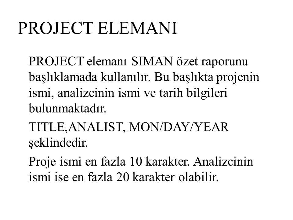 PROJECT ELEMANI