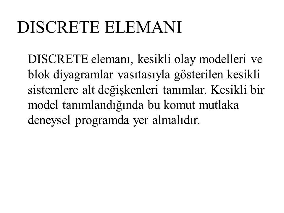 DISCRETE ELEMANI