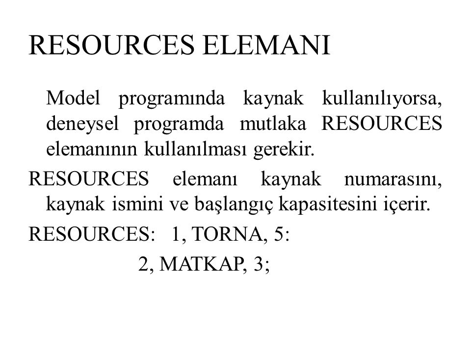 RESOURCES ELEMANI