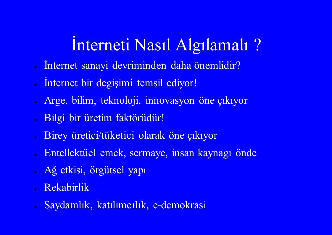 İnterneti Nasıl Algılamalı