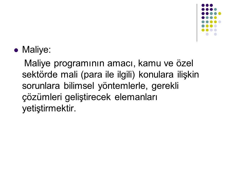Maliye: