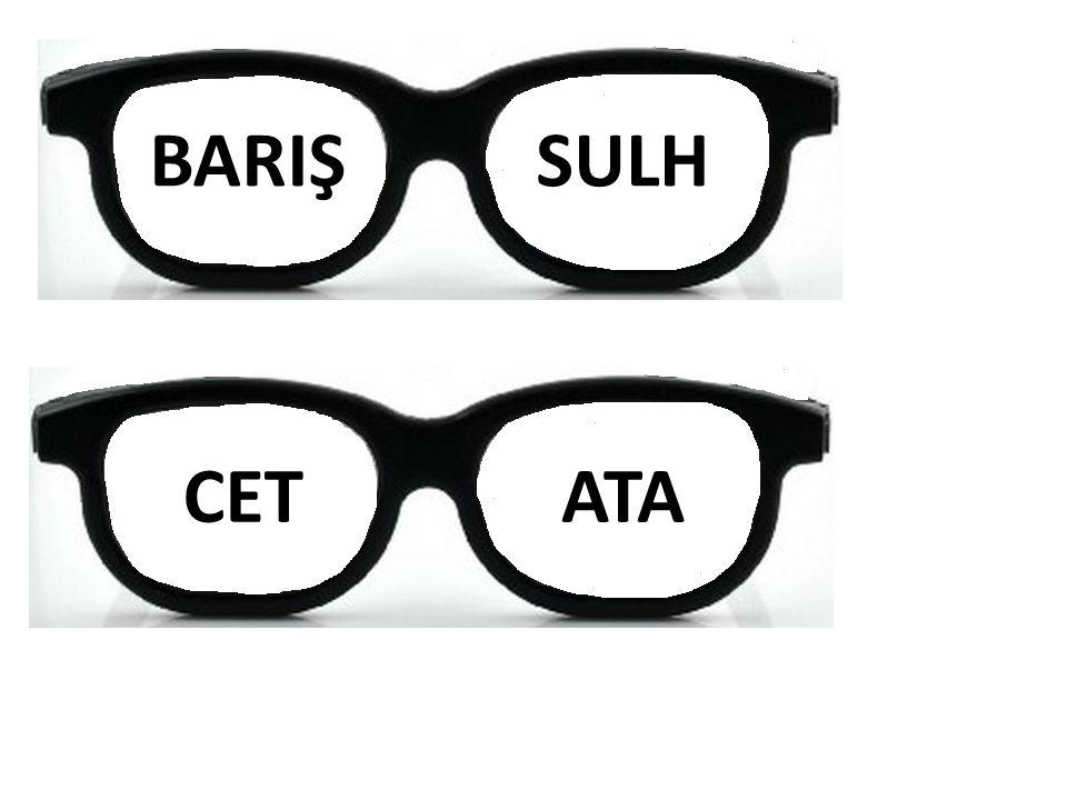BARIŞ SULH CET ATA