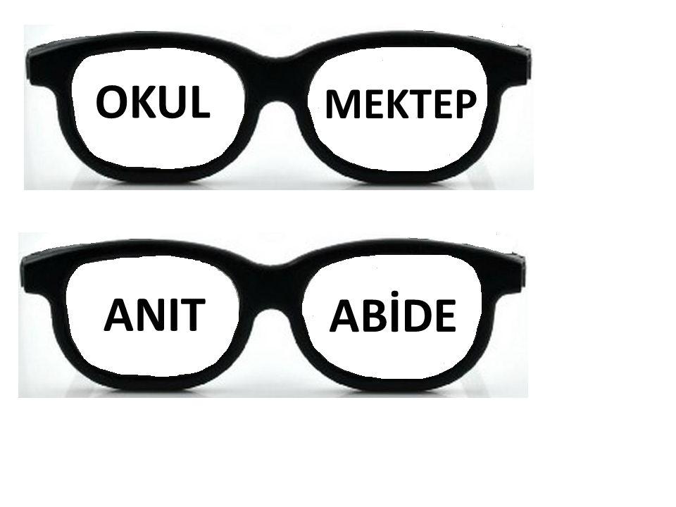 OKUL MEKTEP ANIT ABİDE
