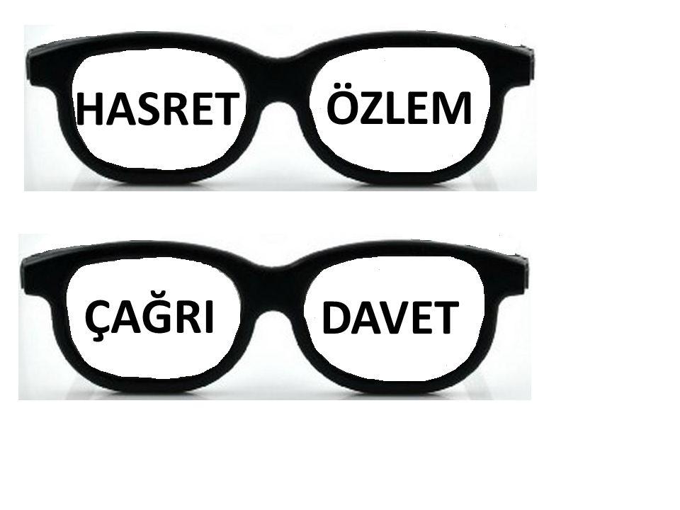 HASRET ÖZLEM ÇAĞRI DAVET