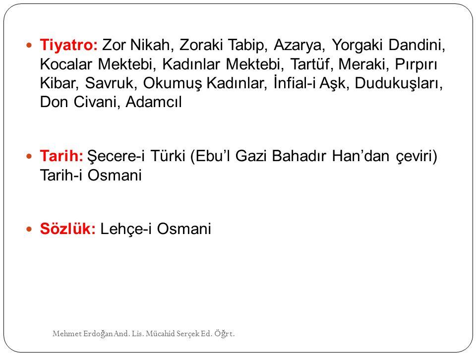 Sözlük: Lehçe-i Osmani