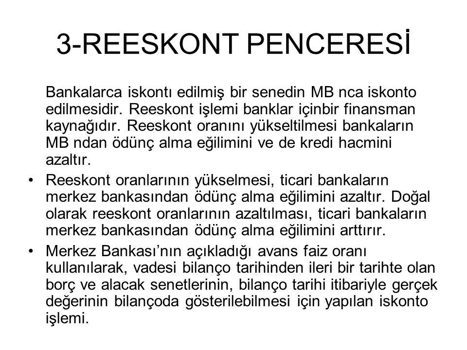 3-REESKONT PENCERESİ