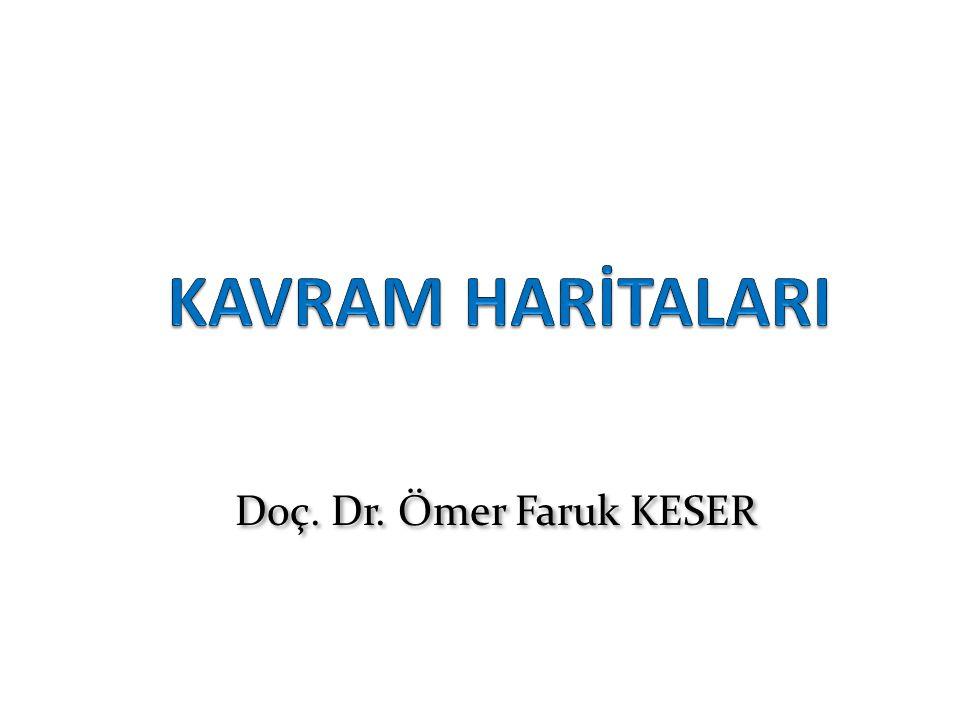 KAVRAM HARİTALARI Doç. Dr. Ömer Faruk KESER