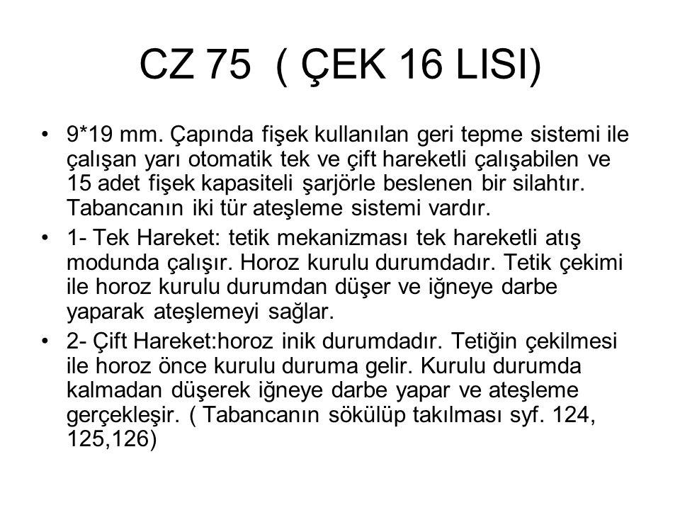 CZ 75 ( ÇEK 16 LISI)