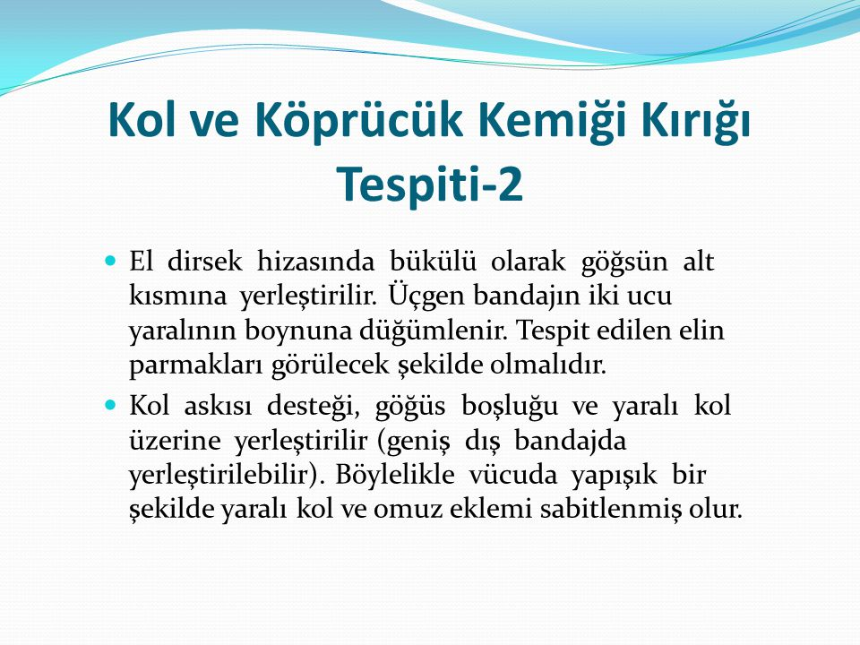Kol ve Köprücük Kemiği Kırığı Tespiti-2