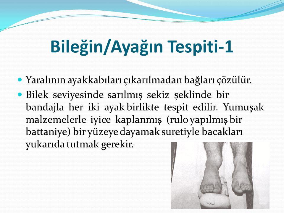 Bileğin/Ayağın Tespiti-1
