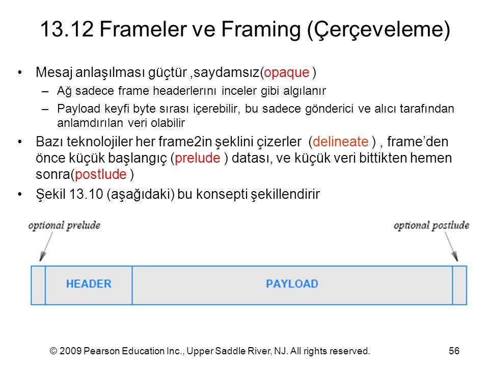 13.12 Frameler ve Framing (Çerçeveleme)