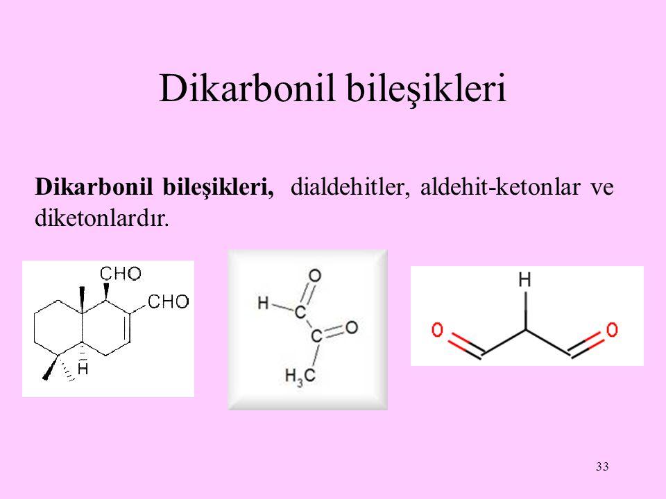 Dikarbonil bileşikleri