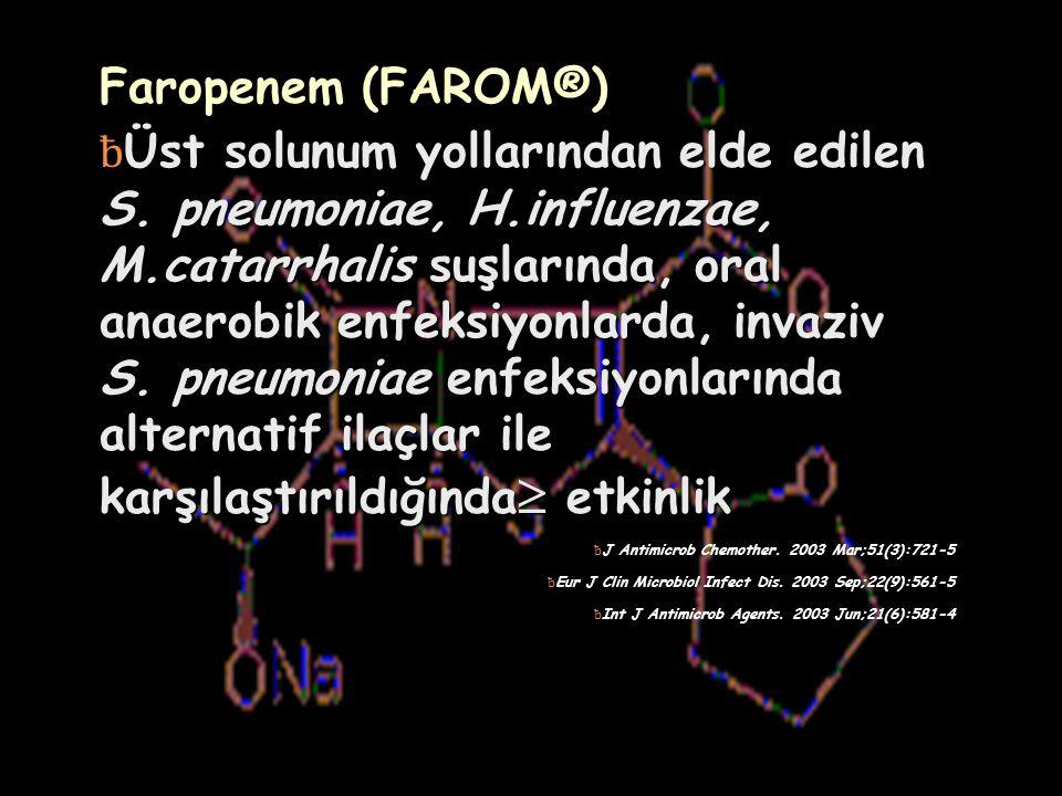 Faropenem (FAROM®)