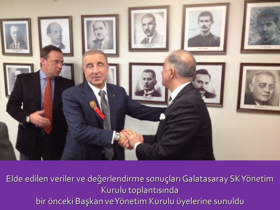 Elde edilen veriler ve değerlendirme sonuçları Galatasaray SK Yönetim