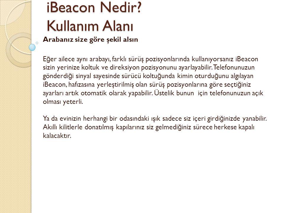 iBeacon Nedir Kullanım Alanı