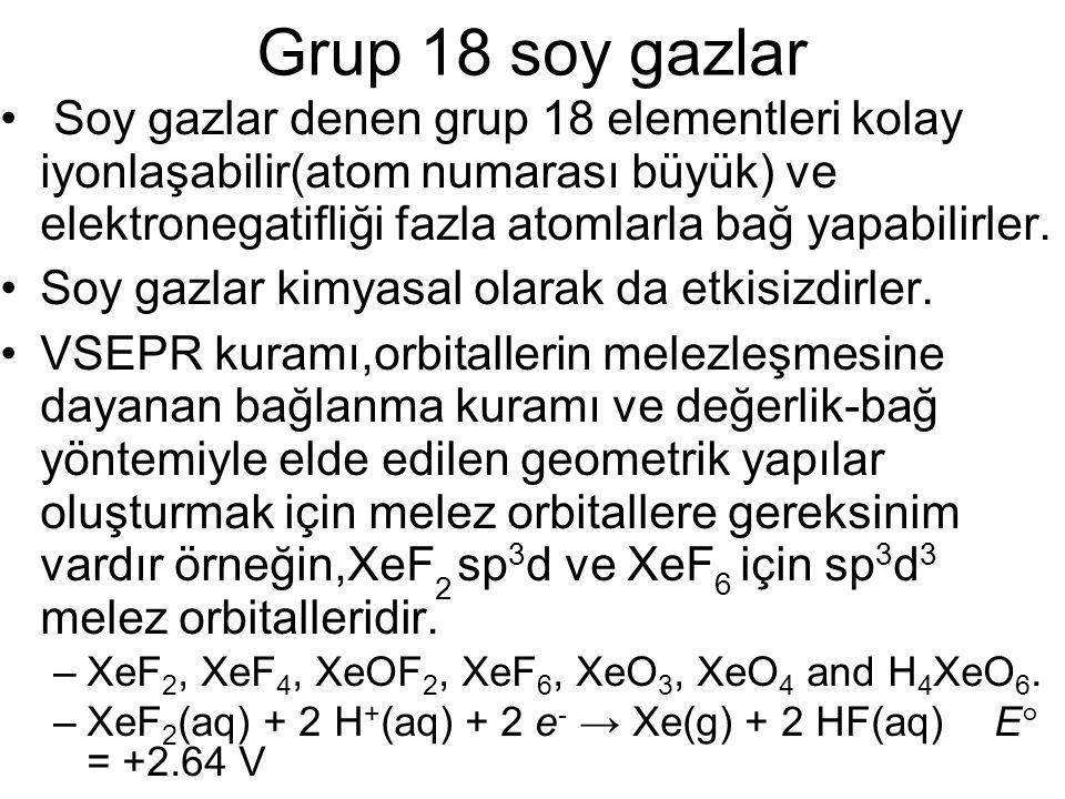 Chemistry 140 Fall 2002 Grup 18 soy gazlar.
