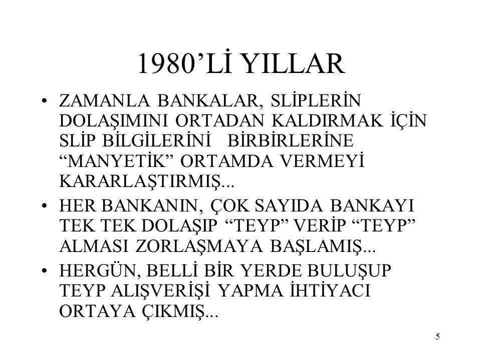 1980'Lİ YILLAR