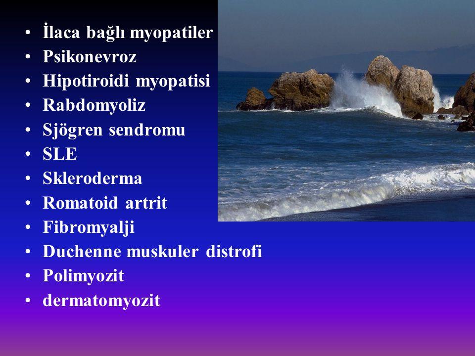 İlaca bağlı myopatiler