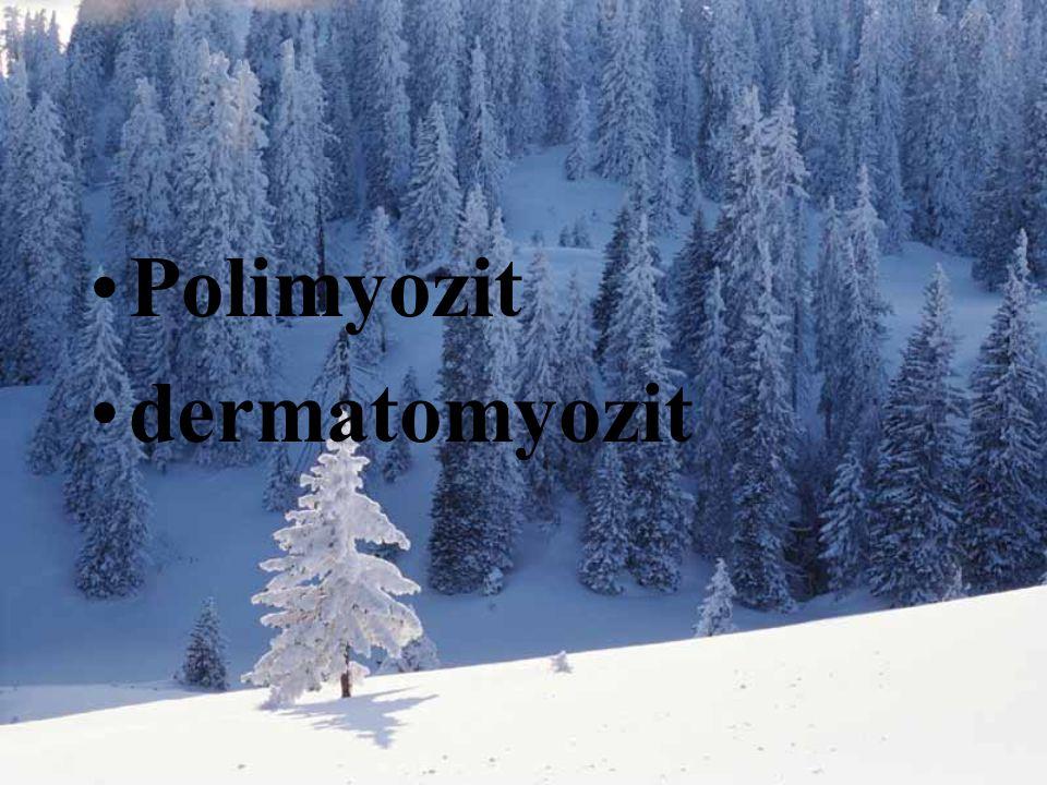 Polimyozit dermatomyozit