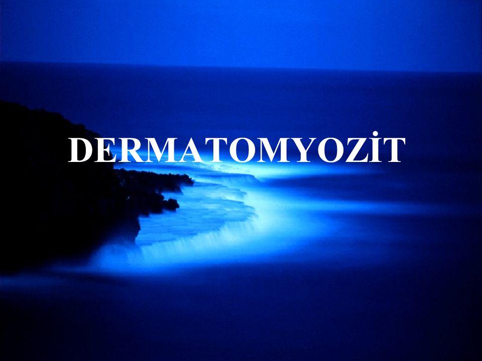 DERMATOMYOZİT