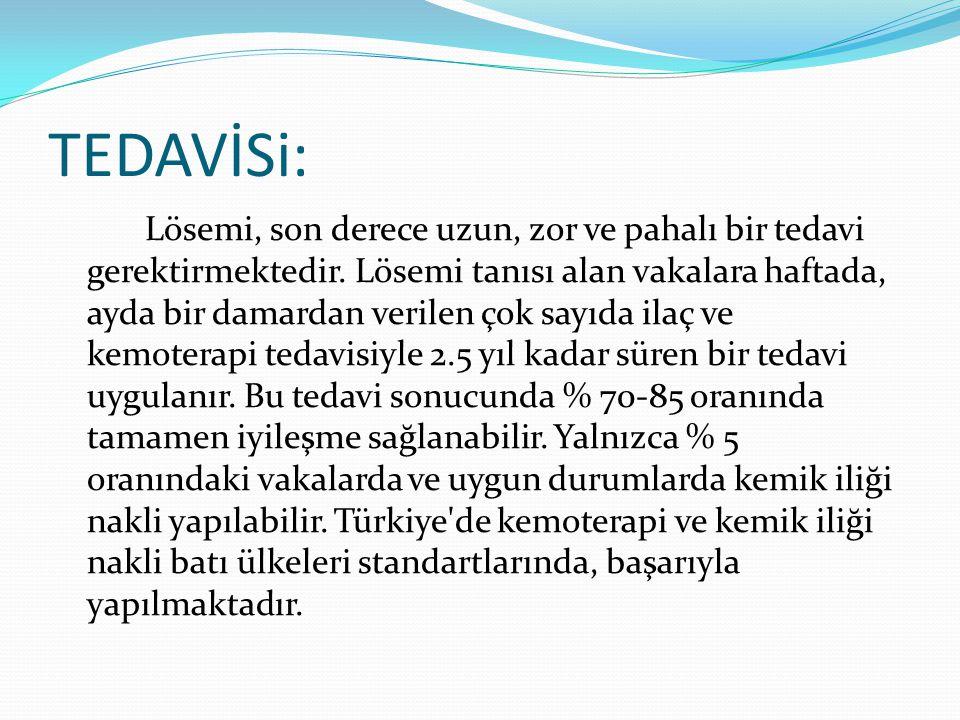 TEDAVİSi: