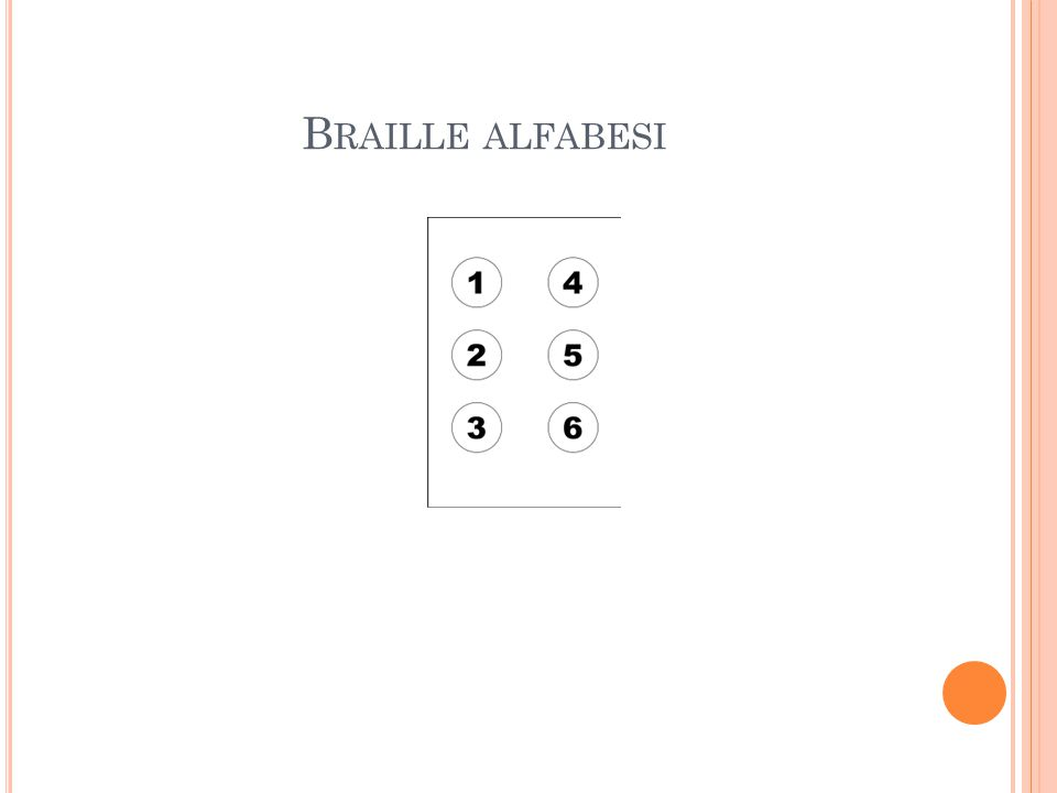 Braille alfabesi