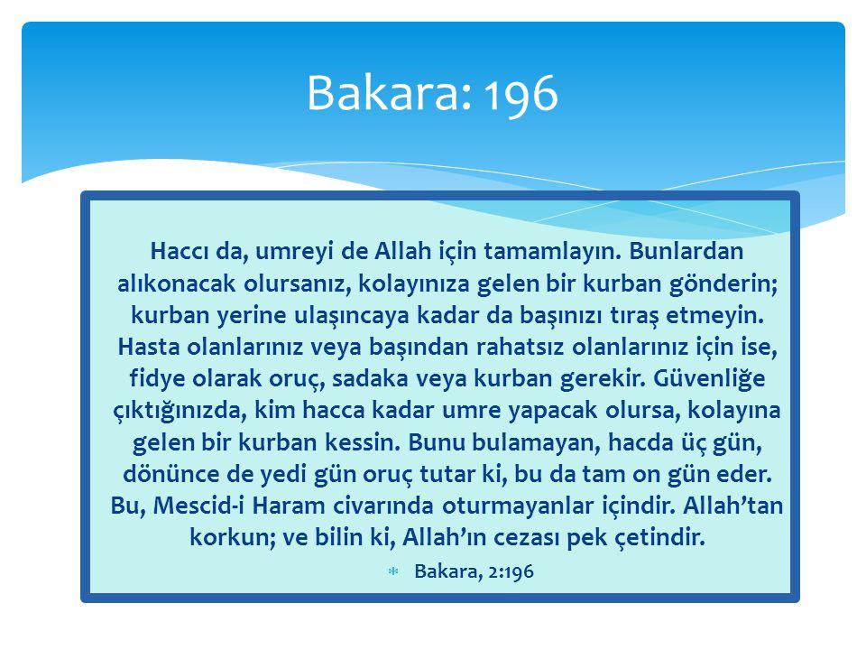 Bakara: 196