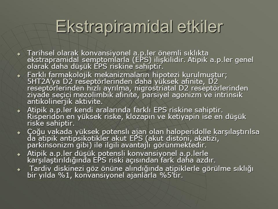 Ekstrapiramidal etkiler