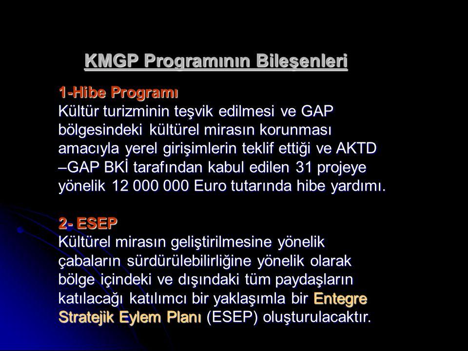 KMGP Programının Bileşenleri