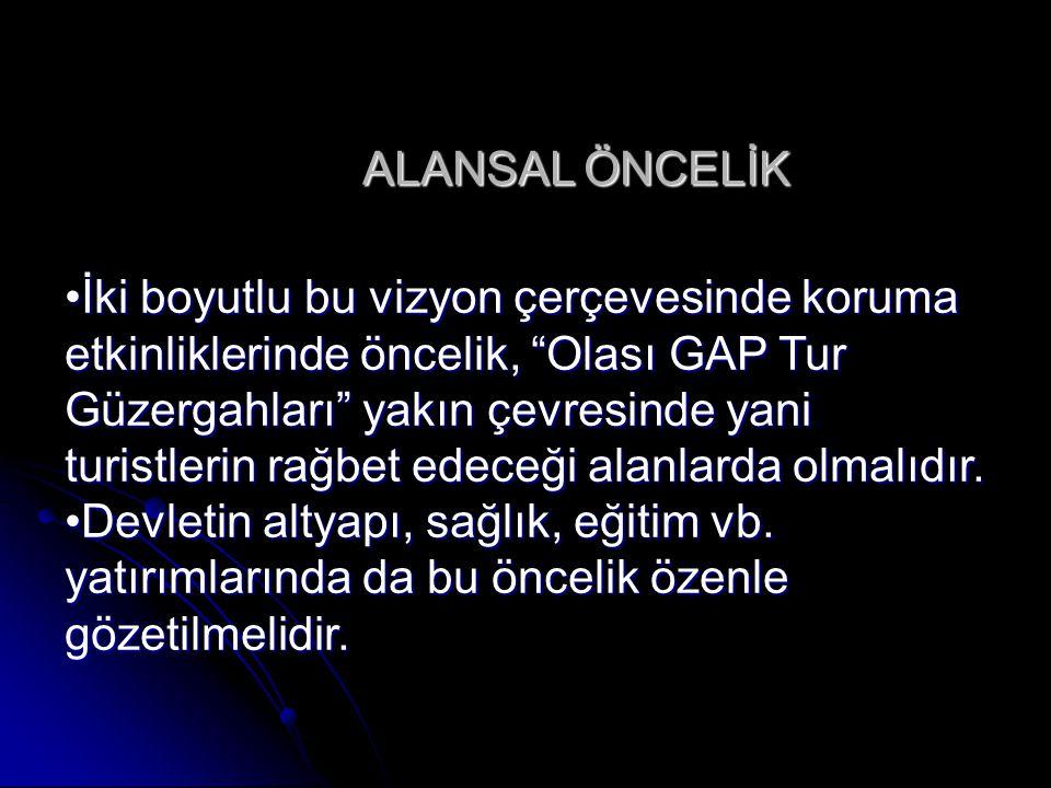 ALANSAL ÖNCELİK