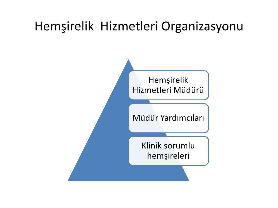 Hemşirelik Hizmetleri Organizasyonu