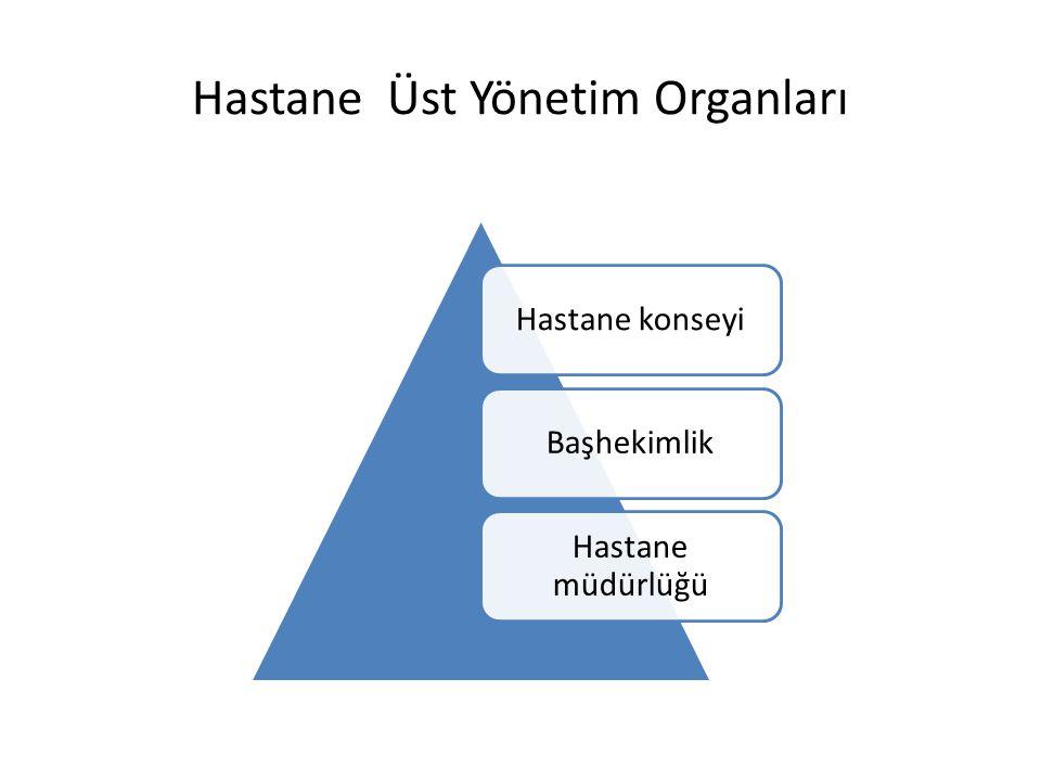 Hastane Üst Yönetim Organları