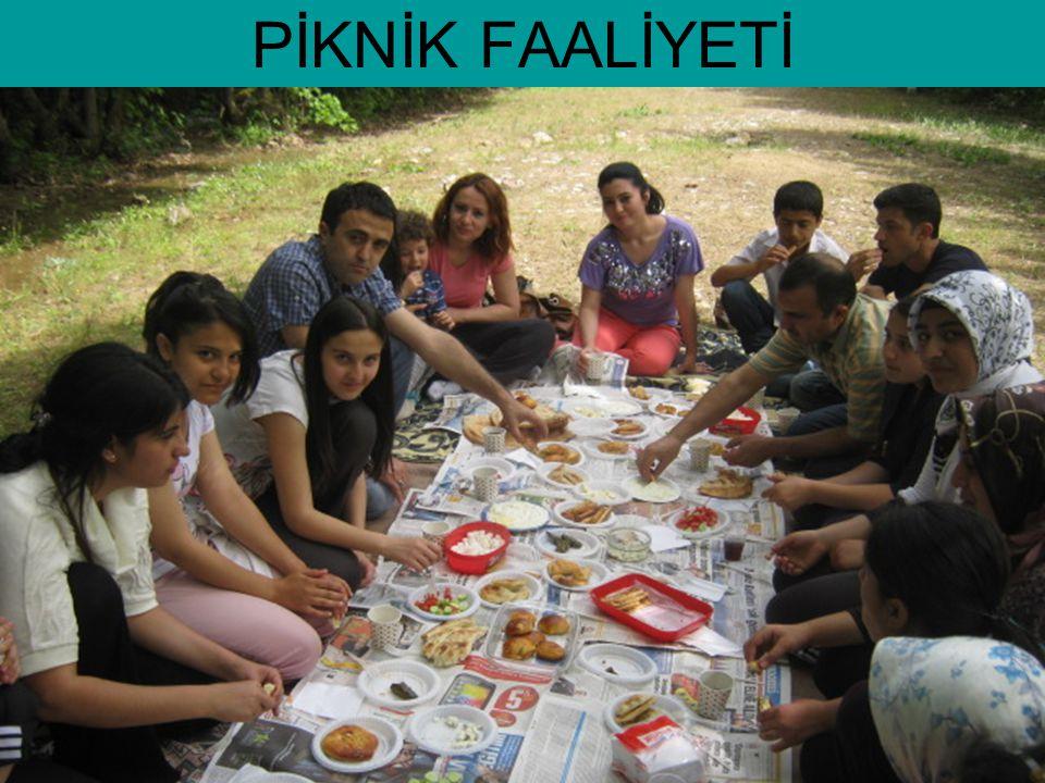 PİKNİK FAALİYETİ