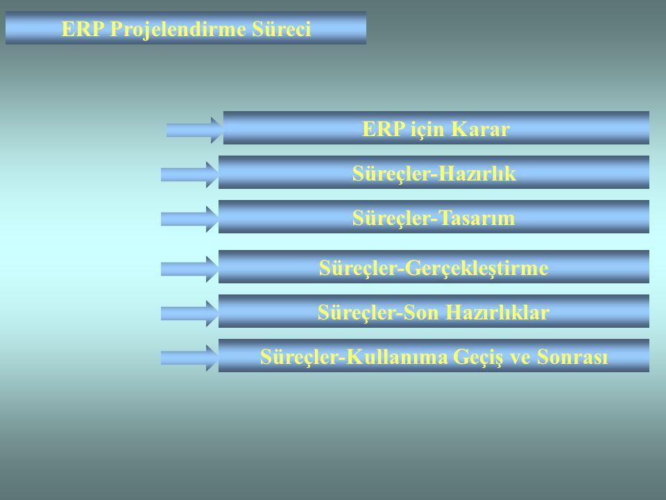 ERP Projelendirme Süreci