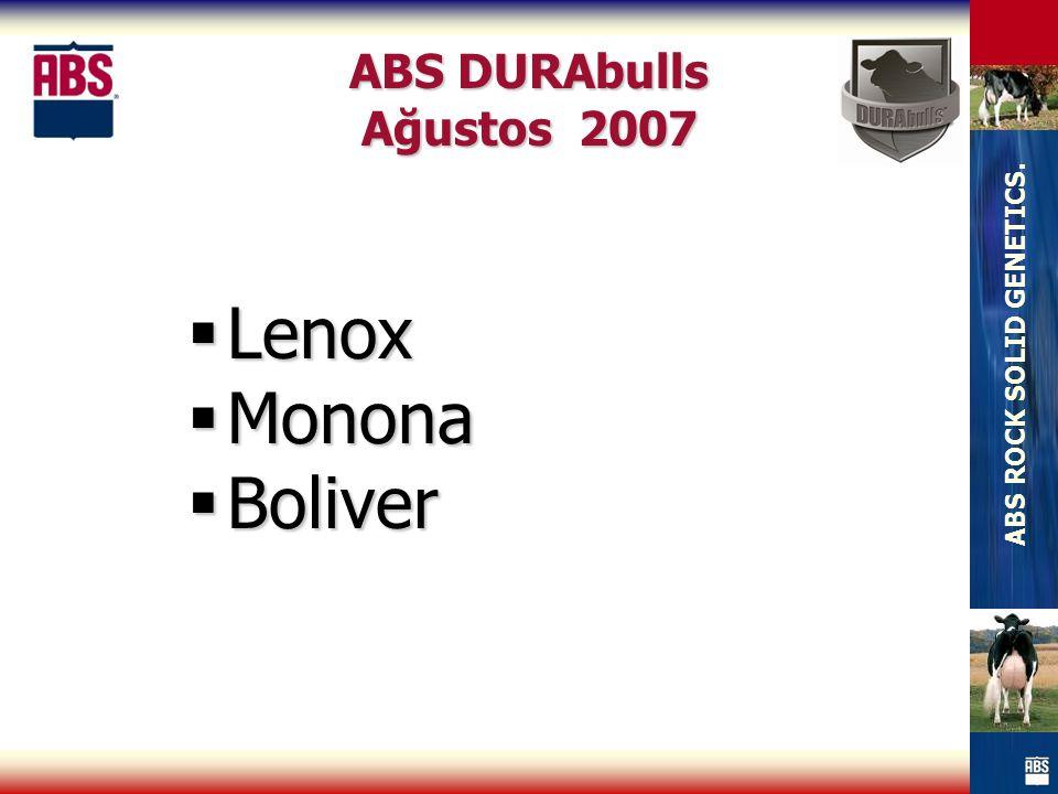 ABS DURAbulls Ağustos 2007 Lenox Monona Boliver