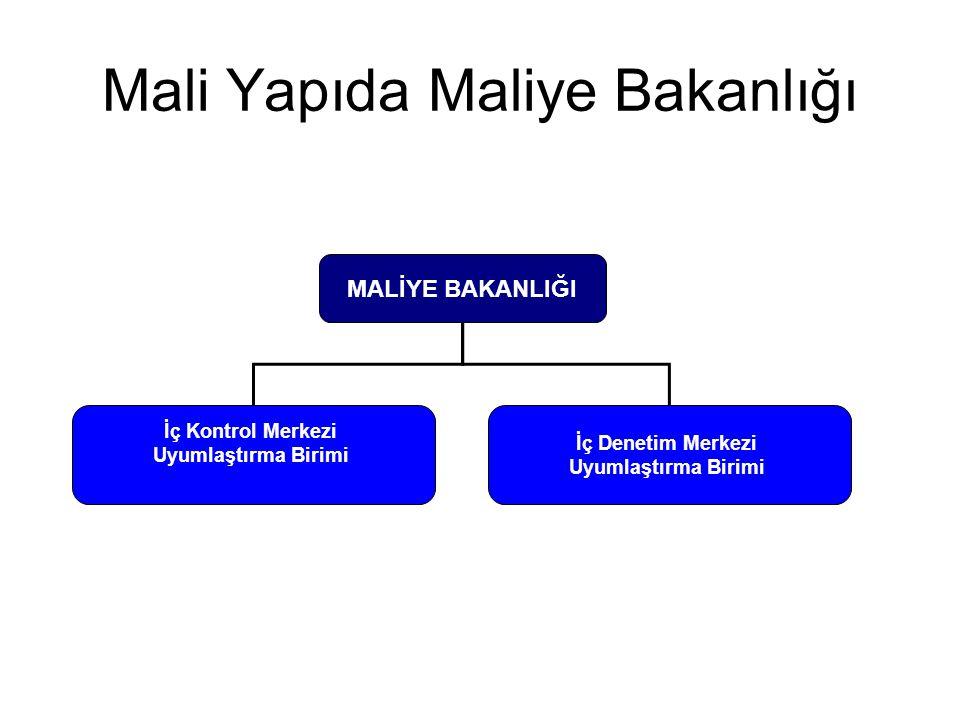 Mali Yapıda Maliye Bakanlığı