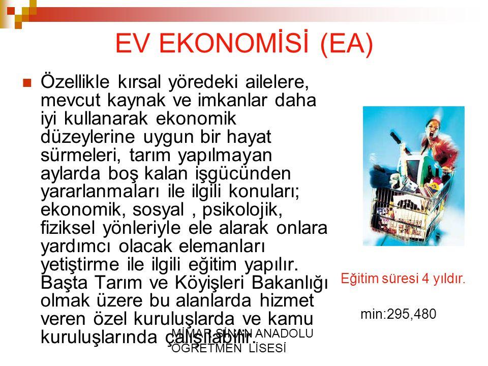 EV EKONOMİSİ (EA)