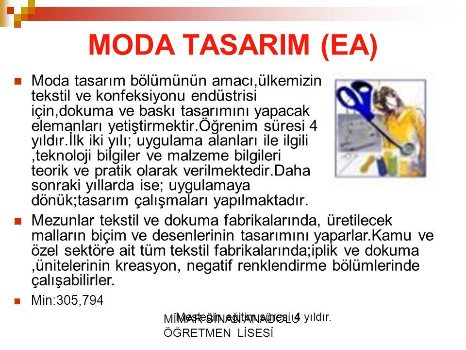 MODA TASARIM (EA)