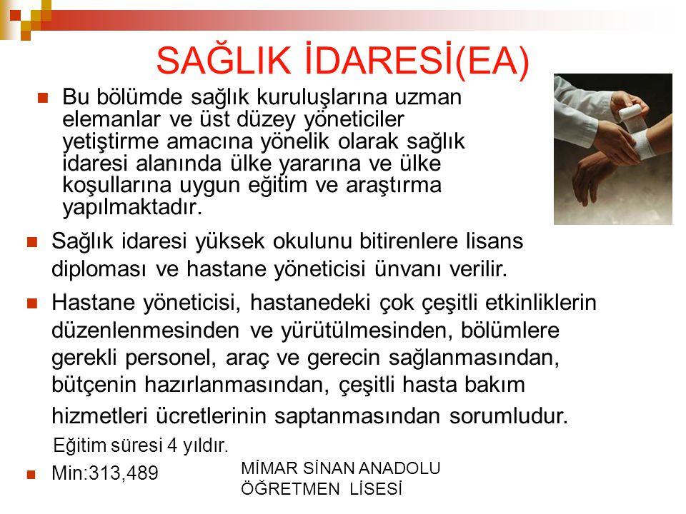 SAĞLIK İDARESİ(EA)