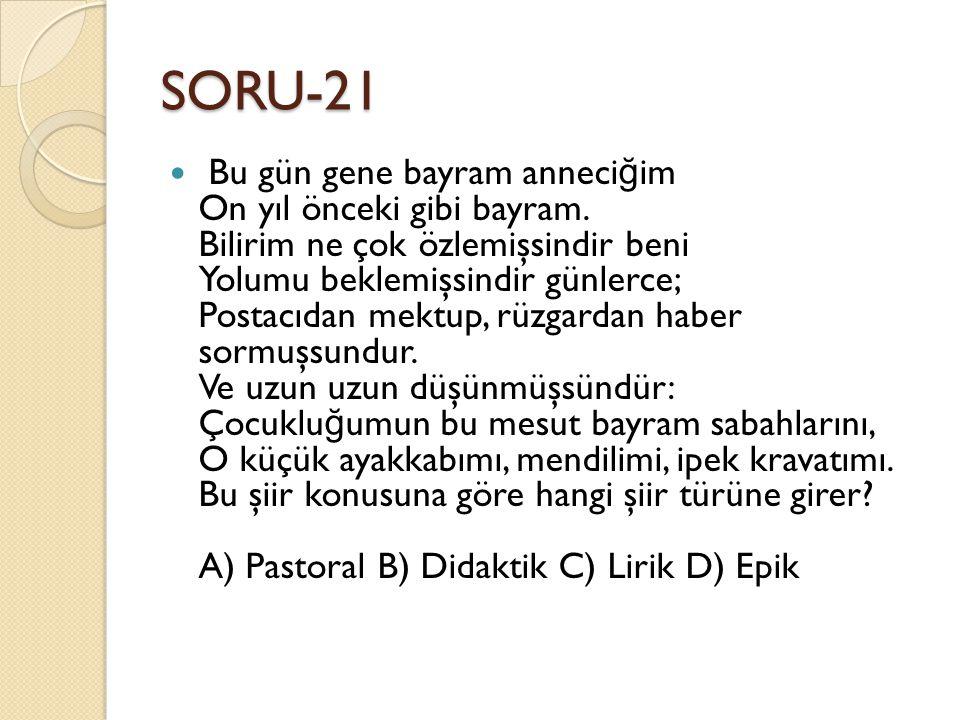 SORU-21