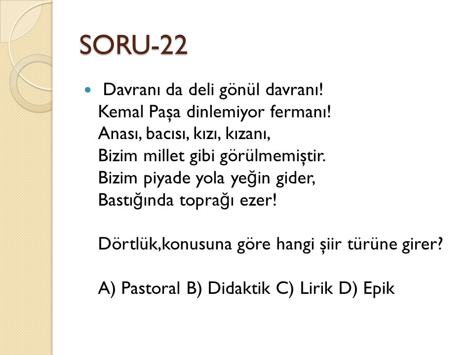 SORU-22