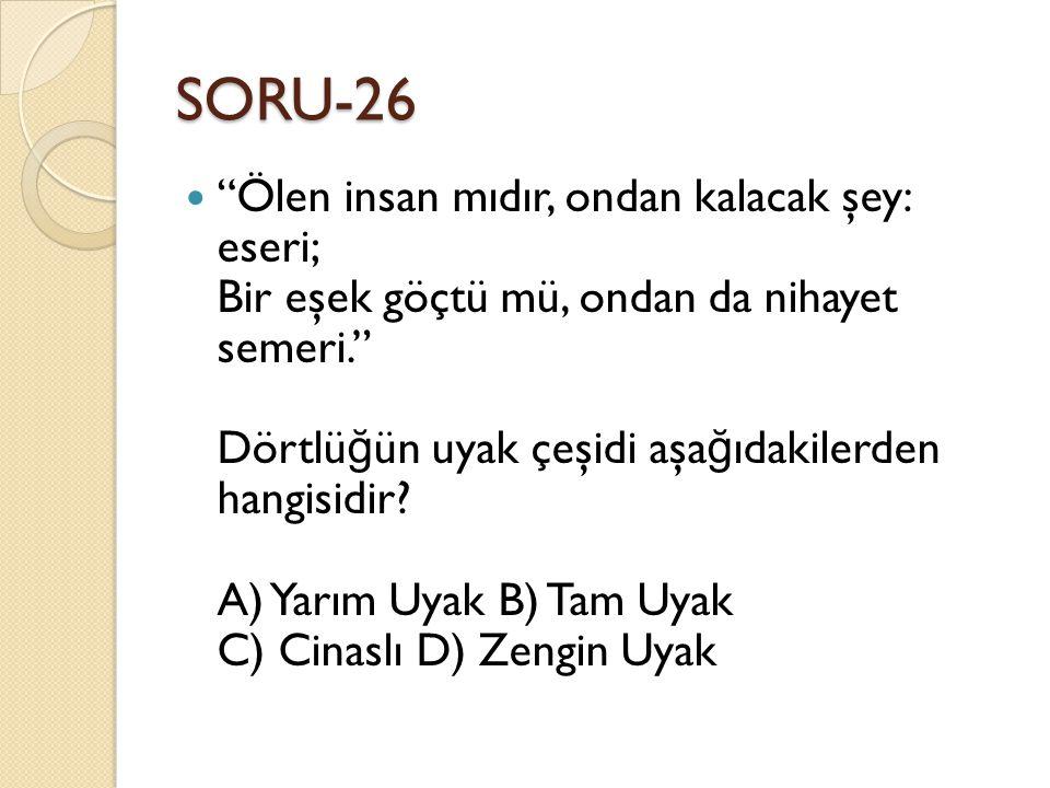 SORU-26