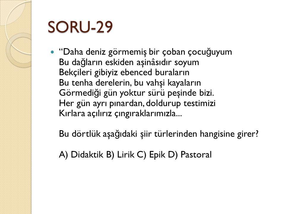 SORU-29